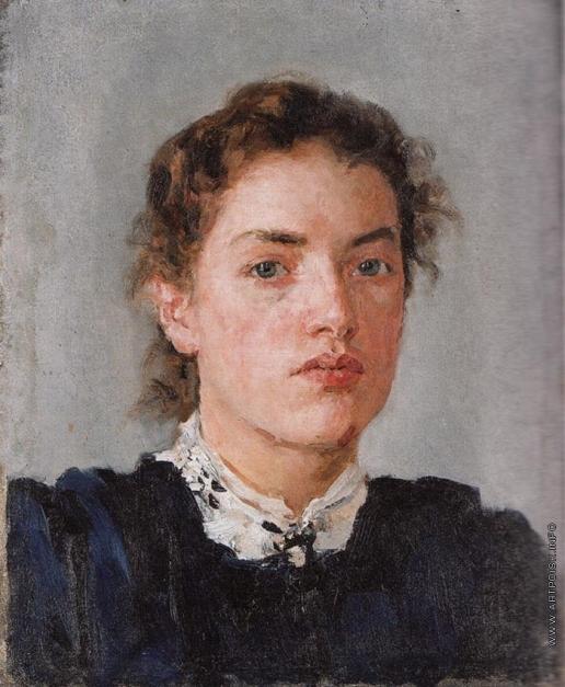 Серов В. А. Портрет Н.Я. фон Дервиз