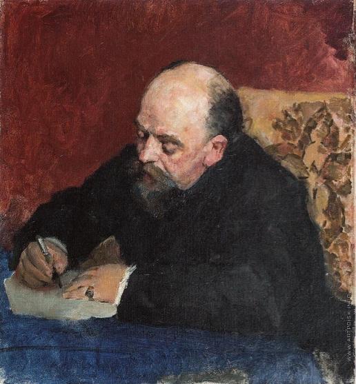Серов В. А. Портрет С.И. Мамонтова