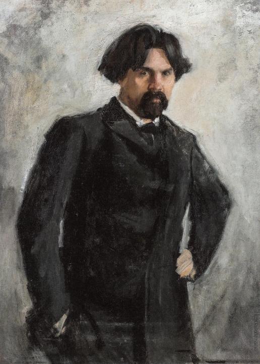 Серов В. А. Портрет В.И. Сурикова