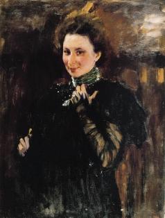 Серов В. А. Портрет М.К. Олив