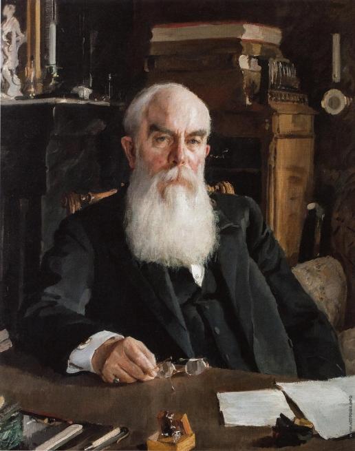 Серов В. А. Портрет А.И. Абрикосова