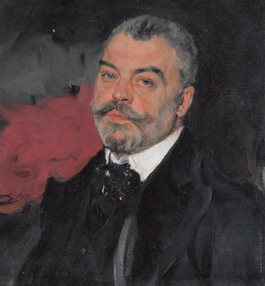 Серов В. А. Портрет П.И. Харитоненко