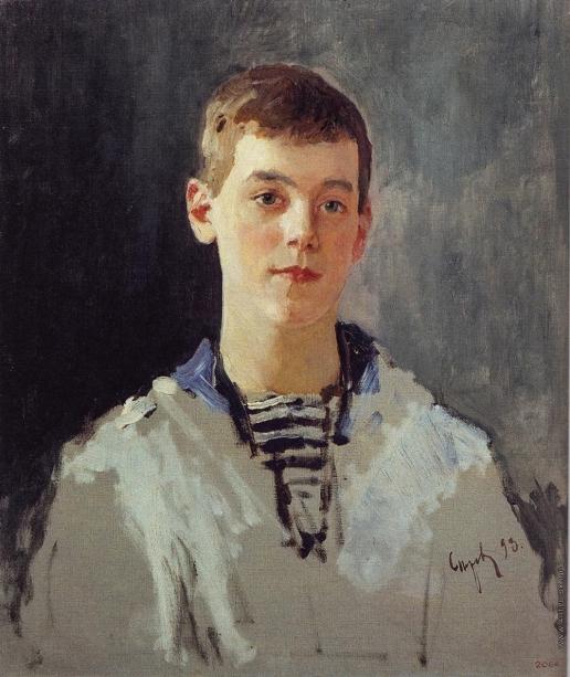 Серов В. А. Портрет великого князя Михаила Александровича в детстве