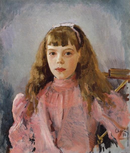 Серов В. А. Портрет великой княжны Ольги Александровны в детстве