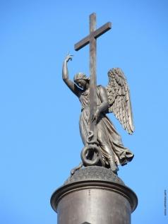Орловский Б. И. Ангел на Александровской колонне