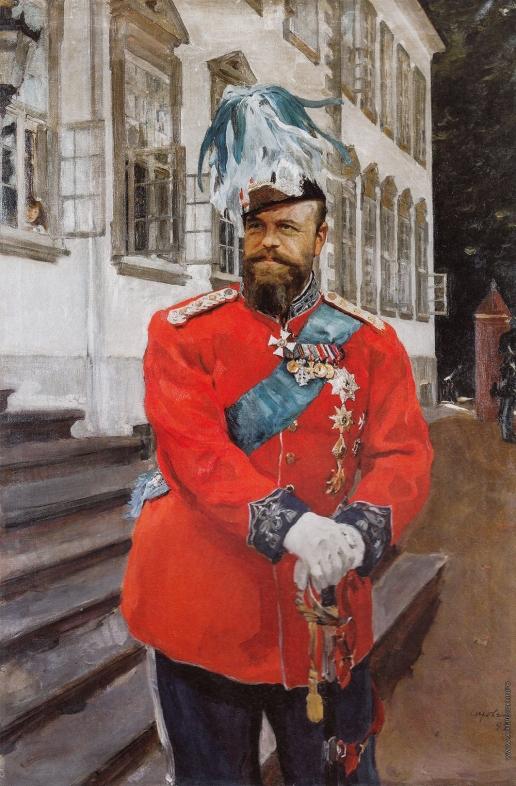 Серов В. А. Император Александр III