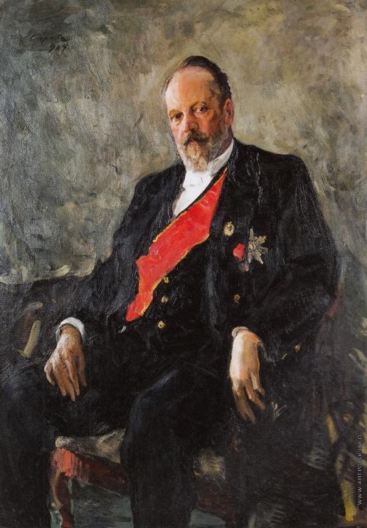 Серов В. А. Портрет С.Ю. Витте