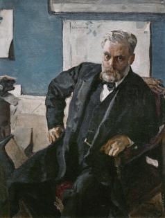 Серов В. А. Портрет Э.Л. Нобеля