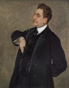 Серов В. А. Портрет В.О. Гиршмана
