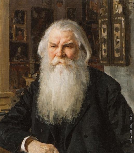 Серов В. А. Портрет И.Е. Забелина