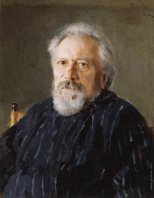 Серов В. А. Портрет Н.С. Лескова