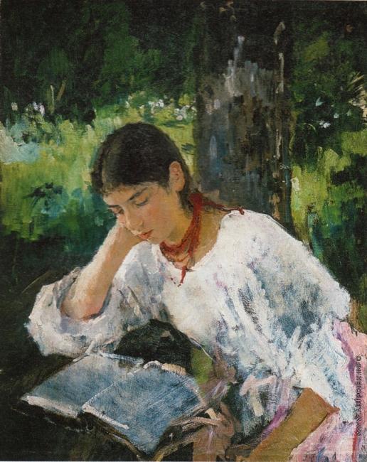 Серов В. А. Портрет А.Я. Симонович