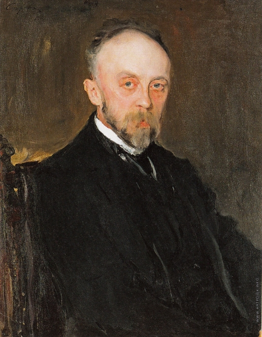Серов В. А. Портрет П.М. Романова