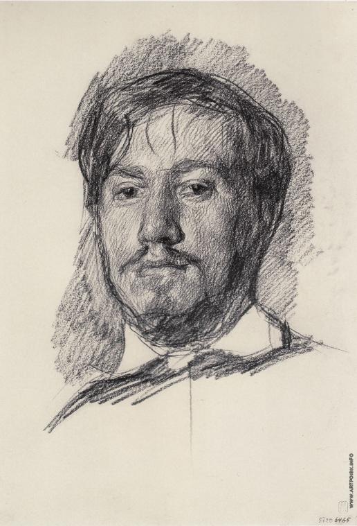 Серов В. А. Автопортрет