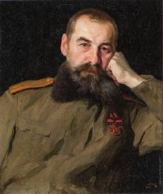 Серов В. А. Портрет военного