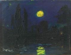 Бурлюк Д. Д. Ночной пейзаж