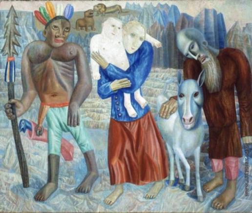 Филонов П. Н. Бегство в Египет