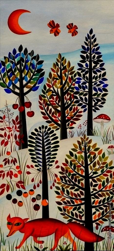 Инсарова-Плисова Н. В. Новый год в лесу
