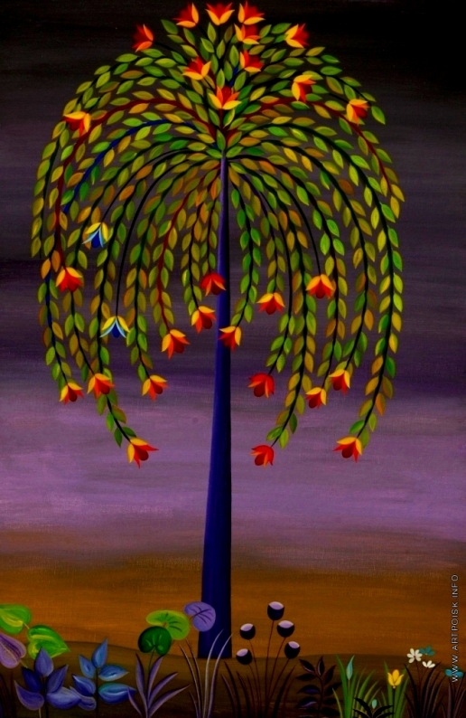 Инсарова-Плисова Н. В. Цикл «Деревья». Веселое дерево