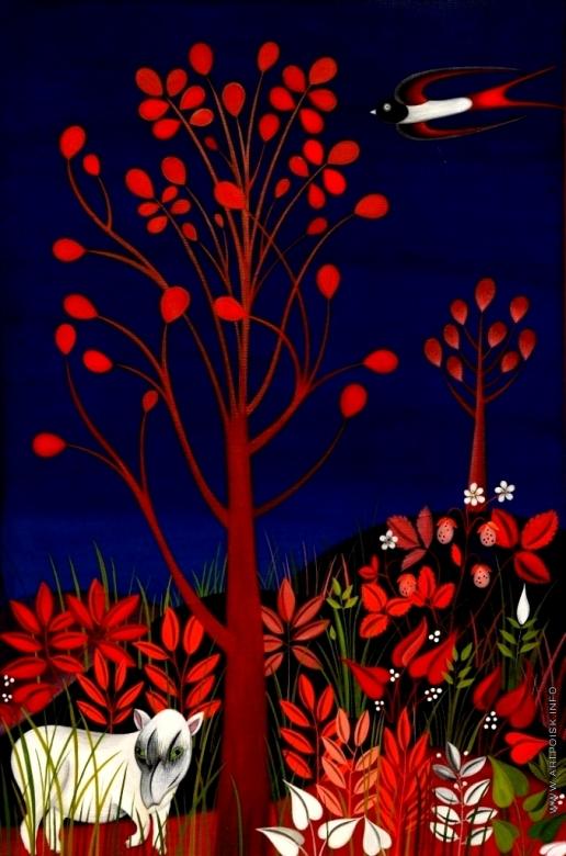 Инсарова-Плисова Н. В. Цикл «Деревья». Тапир и дерево
