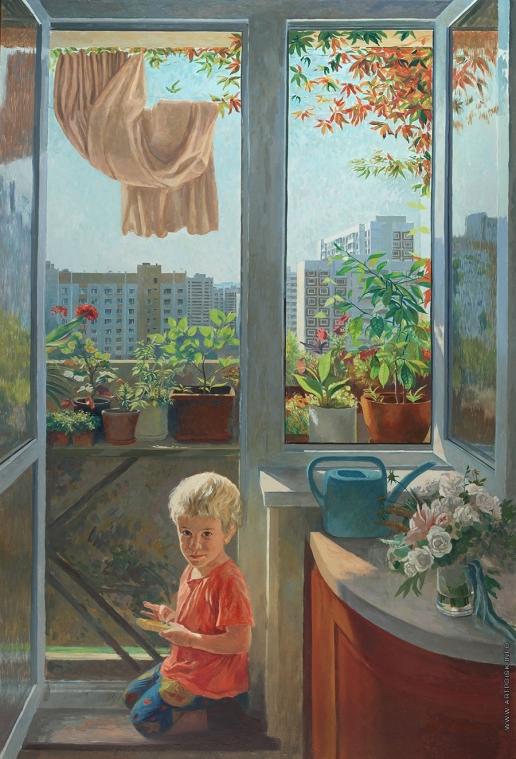 Бочаров Т. С. Мой балкон