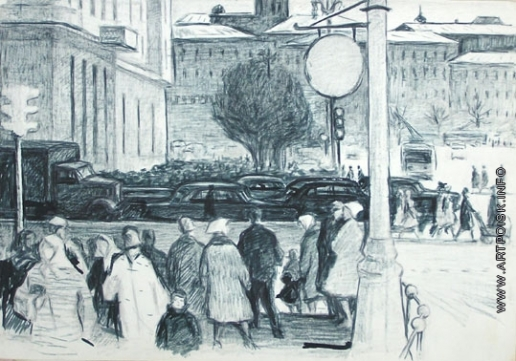 Эйгес О. В. Город. Люди и машины