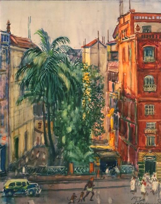 Герасимов А. М. Улица в Бомбее