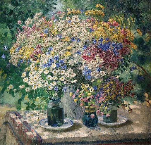 Герасимов А. М. Полевые цветы