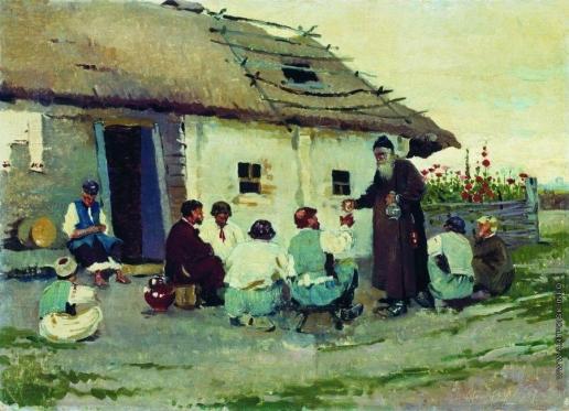 Виноградов С. А. У корчмы