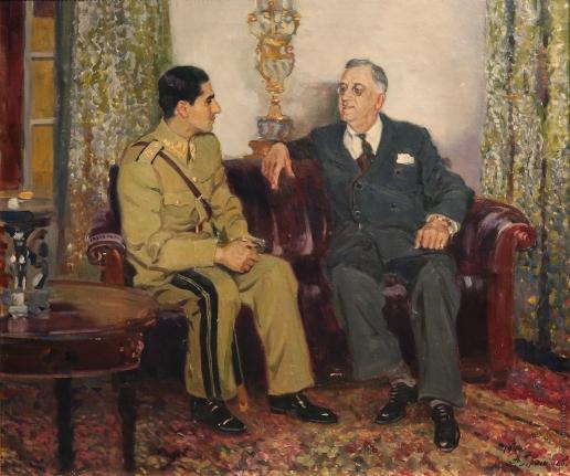 Герасимов А. М. Встреча президента США Франклина Делано Рузвельта с шахом Ирана Мохаммедом Реза Пехлеви