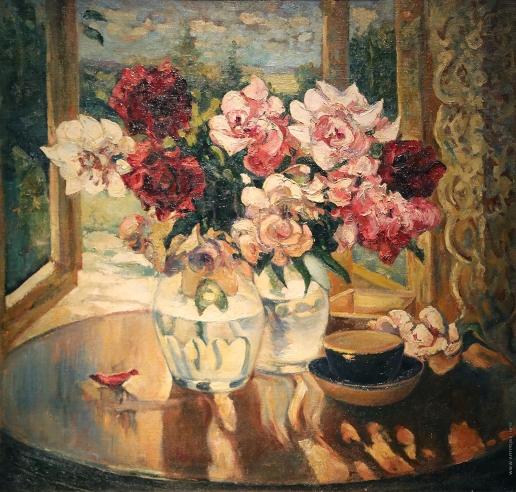 Герасимов А. М. Натюрморт с букетами роз