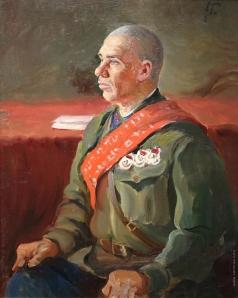 Герасимов А. М. Комкор И.П. Апанасенко. Этюд к картине «Первая конная армия»