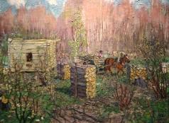 Герасимов А. М. Весной на порубке