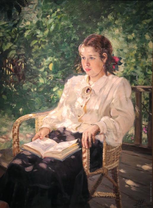 Герасимов А. М. Портрет дочери