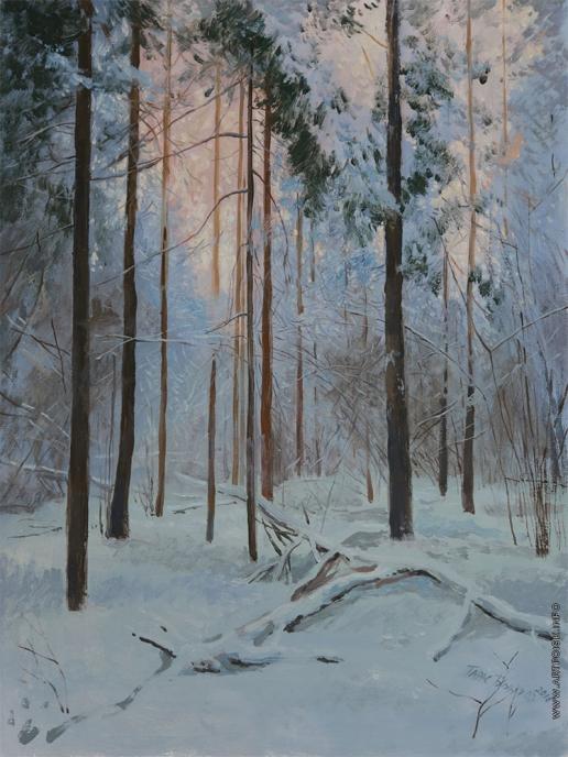 Бочаров Т. С. Вечер в лесу