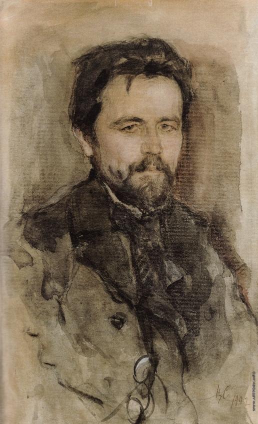 Серов В. А. Портрет А.П. Чехова
