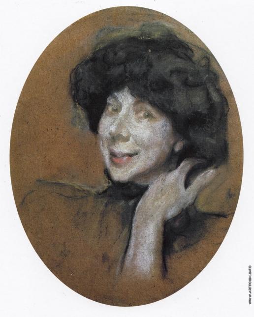 Серов В. А. Портрет А.К. Бенуа