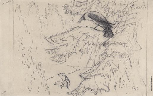 Серов В. А. Ворона и лисица