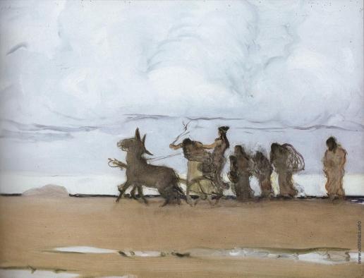 Серов В. А. Одиссей и Навзикая