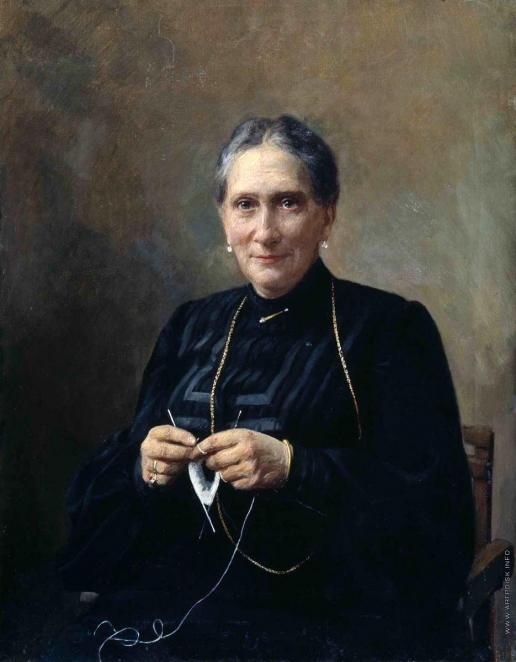 Манизер Г. М. Женский портрет