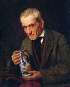 Боткин М. П. Портрет пожилого мужчины. Антиквар