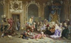 Якоби В. И. Шуты при дворе императрицы Анны Иоанновны