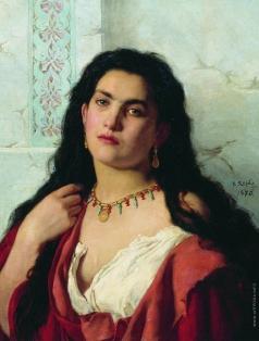 Якоби В. И. Женский портрет