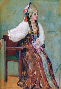 Якоби В. И. Боярышня