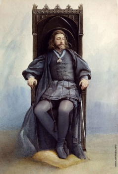 Юнкер-Крамская С. И. Великий князь К.К. Романов в роли Гамлета