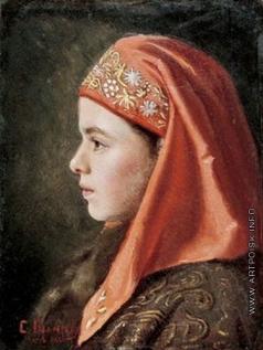 Юнкер-Крамская С. И. Портрет девочки