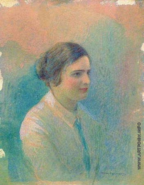 Юнкер-Крамская С. И. Портрет М.И. Ицыной