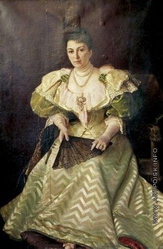 Юнкер-Крамская С. И. Портрет М.Г. Савиной