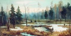 Волков Е. Е. В конце зимы
