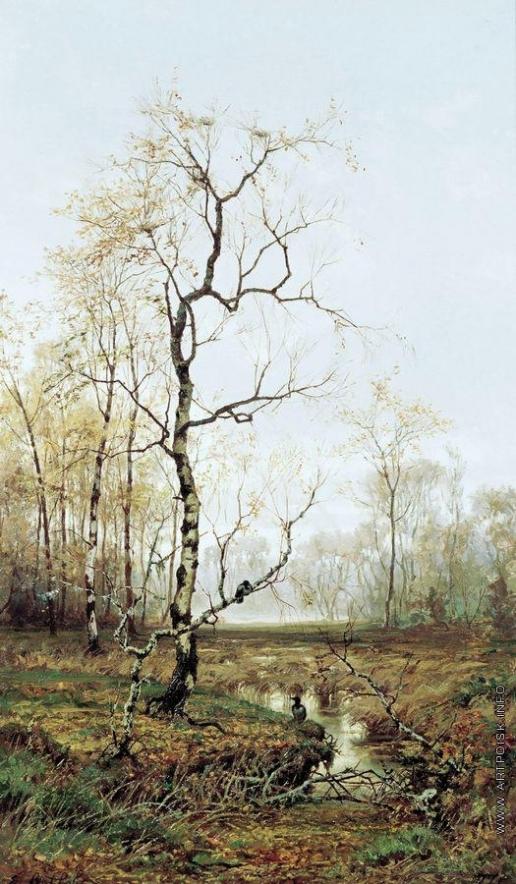 Волков Е. Е. В лесу. По весне